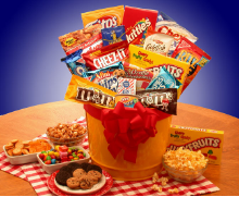 Junk Food Madness Gift Package