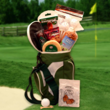 Golfing Around Golf Caddy Gift Package