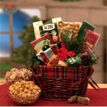Old Fashioned Christmas Gourmet Gift Basket