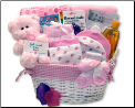 Simply Baby Necessities Basket - Pink