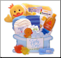 Bath Time Basics Gift Box - Blue