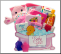 Bath Time Basics Gift Box - Pink
