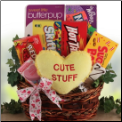 Two Cute Dog Owner & Dog Valentine Gift Basket