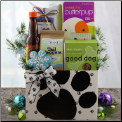 Holiday Barks and Wags Dog Gift Package