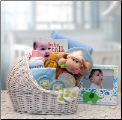 Welcome Baby Bassinet Gift Package