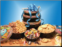 Birthday Snacks Gourmet Gift Tower