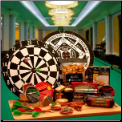 Bullseye Treats Dart Board Gift Package