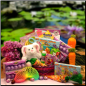 Bunny Hugs Easter Basket - Pink