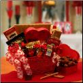 Cupids Choice Valentine's Day Chocolates Gift Basket
