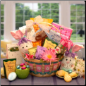 Easter Holiday Sweet Treats Gift  Basket