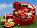 Football Fanatic Sports Lover Gift Basket