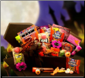 Haunted Halloween Coffin Treats Gift Package