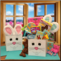 Hoppy Petes Easter Care Package - Pink