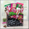 Happy Mothers Day Spa Gift Box w/ Exotic Lily