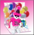 Get The Party Started Bear Plush Gift Package
