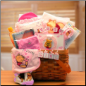 Winnie The Pooh Baby Girl Gift Basket