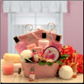Pretty in Pink Luxury Gift Basket