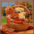Shades of Autumn Snack Gift Basket