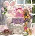 Bunny Special Easter Gift Basket