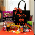 Trick Or Treat Halloween Candy Gift Tote