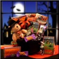 Witches Brew Halloween Caldron Gift Package