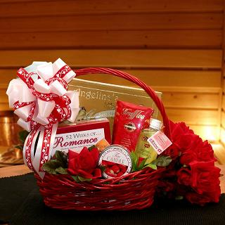 Romantic Gift Baskets, Free Delivery