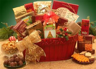 Holiday Gift Baskets, Free Shipping