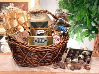 Chocolate Gift Baskets, Free Shipping