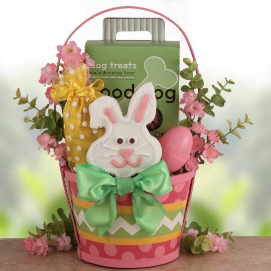 Dog Lover Easter Gift Baskets, Free Ground Shipping