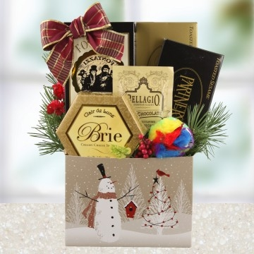 Cat Christmas Gift Baskets, Cat & Owner Holiday Baskets
