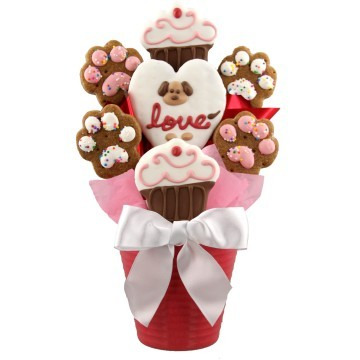 Dog Valentine's Day Gift Baskets, Free Shipping