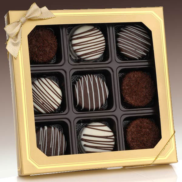 Classic Chocolate Dipped Oreo Cookies, Free Shipping