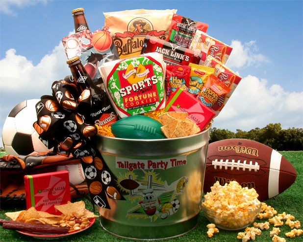 Sports Gift Baskets, Free Shipping