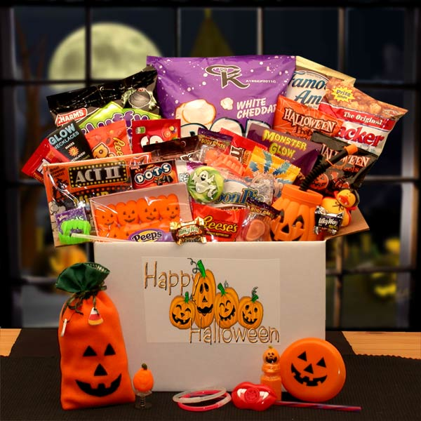Halloween Care Packages, Delivery to Deployed Military
