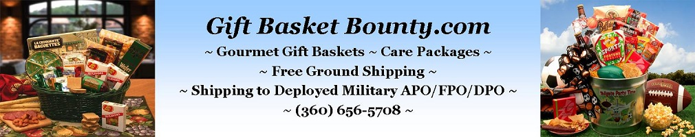 Gift Basket Bounty, Gourmet Gift Baskets, Care Packages