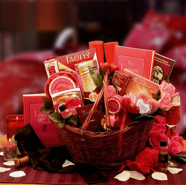 Valentine's Day Gift Baskets, Free Ground Shipping