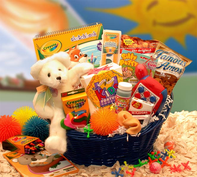 Children's Gift Baskets, Gift Baskets for Kids, Kids Gift Baskets