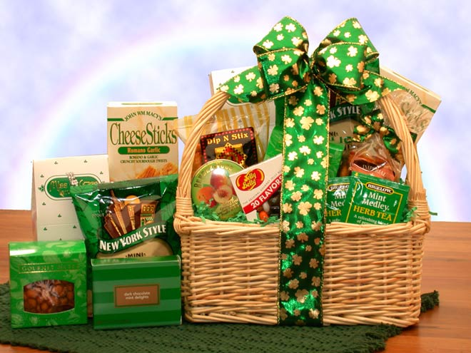 Saint Patrick's Day Care Packages, Free Ground Shipping