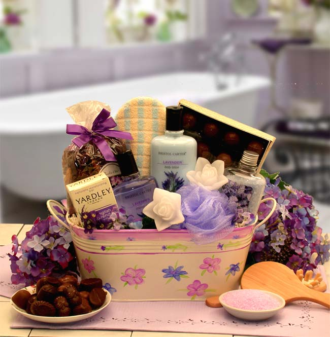 Spa, Bath and Beauty Gift Baskets