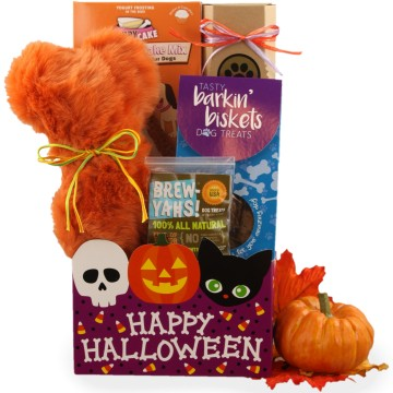 Halloween Gift Baskets for Dogs, Free Shipping