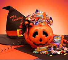 Trick Or Treats Halloween Jack O Lantern Gift