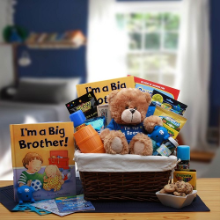I'm The Big Brother Children's Gift Basket