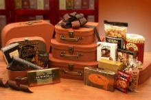 Traveling Gourmet Treats  Gift Tower