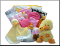 Bath Time Baby Wash Tub Gift Basket