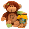 Friend on The Mend Monkey and Cookie Pail