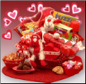 Some Monkey Business Kids Valentine's Gift Basket