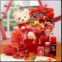 The Bear Of Hearts Kids Valentine's Gift Package