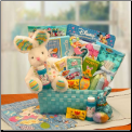 Little Cottontails Easter Activity Easter Basket Blue