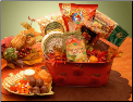 Fall Harvest Gourmet Snacks Gift Basket