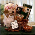 With Our Sincere Condolences Gift Basket